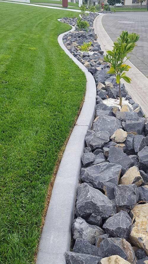 Concrete Edging Tauranga | Mowing Strips Bay of Plenty